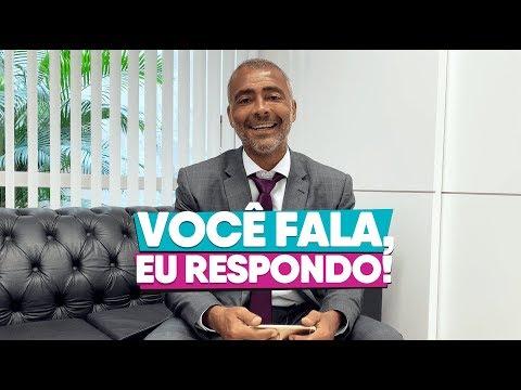 Você fala, eu respondo! - Senador Romário Lendo Comentários