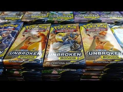 Opening 1,000 Unbroken Bonds Pokemon Packs