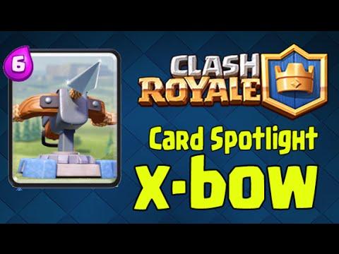 Clash Royale - Card Spotlight: X-BOW (Is this an OP card?)