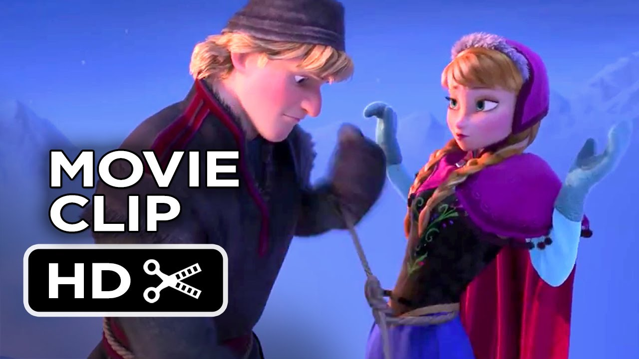 frozen movie clip - that happened (2013) - kristen bell disney