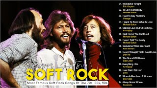 Bee Gees, Phil Collins, Air Supply, Michael Bolton, Rod Stewart, Lobo - 70s 80s Soft Rock Love Songs