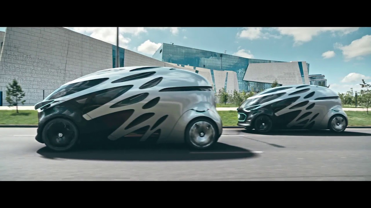 Mercedes Benz Vision Urbanetic Into The City Of The Future With