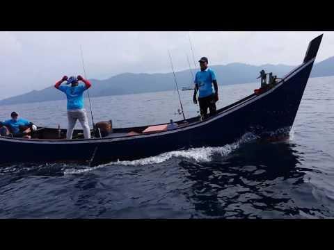 Go fishing jigging on Batu tiga belas Banda Aceh