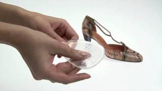 SALAMANDER PROFESSIONAL- Гелевая стелька - Disco Queen(Предотвращает скольжение в обуви на высоком каблуке, уменьшает нагрузку на переднюю часть стопы. Прозрачны..., 2012-01-26T08:03:13.000Z)