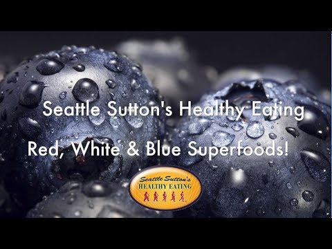 Red, White & Blue Superfoods!