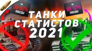 Это ЛУЧШИЕ танки для ПОДНЯТИЯ СТАТИСТИКИ wot blitz в 2021 / Танки СТАТИСТА вот блиц