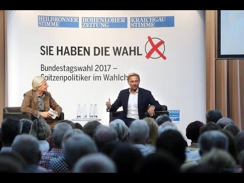 Stimme Wahlcheck mit Christian Lindner (FDP) zur Bundestagswahl 2017