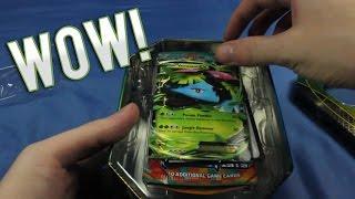 Pokemon TCG Venusaur EX 2014 Tin Opening