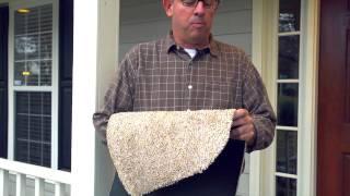Microfiber Mud Rug Mat With Nonskid Backing SKU # 36200, 36201, 36202: Plow & Hearth