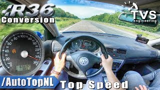 VW Golf MK4 R32 | 415HP R36 SUPERCHARGED | 275km/h AUTOBAHN POV by AutoTopNL