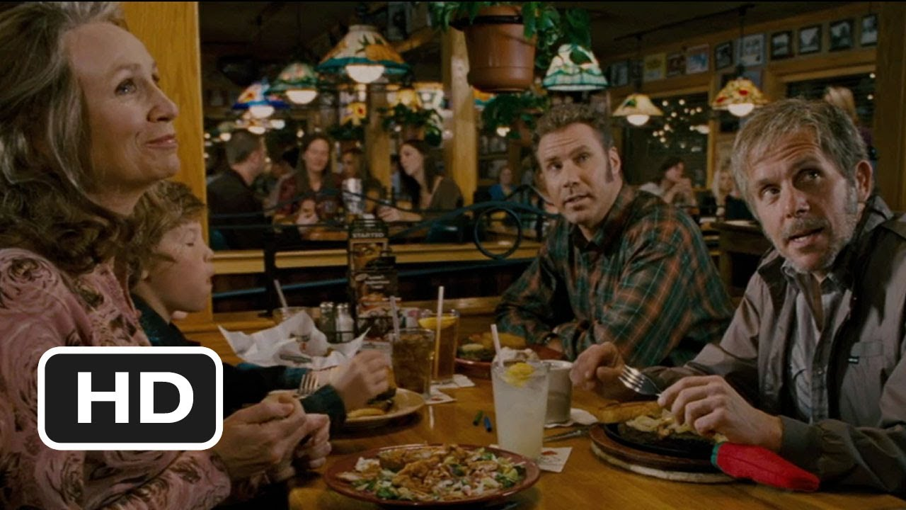 talladega nights 7 8 movie clip dinner at applebee 39 s. Black Bedroom Furniture Sets. Home Design Ideas