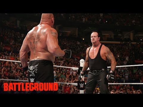 WWE Network: The Undertaker Returns To Confront Brock Lesnar: WWE Battleground 2015
