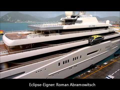 Eclipse Und Oasis Of The Seas In St Maarten Wmv