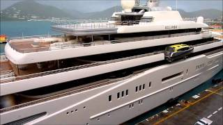 Eclipse und Oasis of the Seas in St, Maarten.wmv