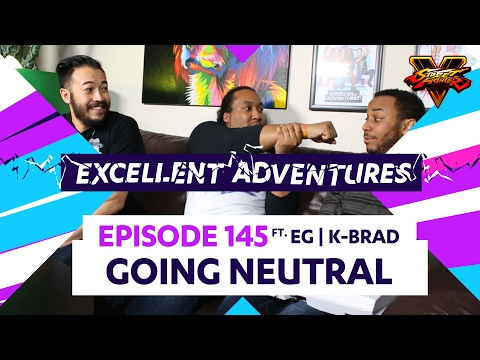 GOING NEUTRAL ft. EG|K-BRAD! The Excellent Adventures of Gootecks & Mike Ross Ep. 145 (SFV Season 2)