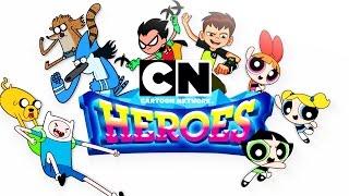 Una recopilación de los 3 Mejores Momentos con los héroes.   Cartoon Network