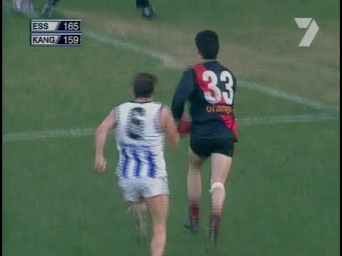 Round 16 2001, Essendon vs Kangaroos Highlights ***100th UPLOAD***