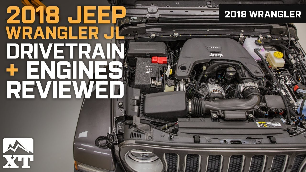 2018 Jeep Wrangler JL Engines And Drivetrain Reviewed   In Depth Look At  The JLu0027s New Engines