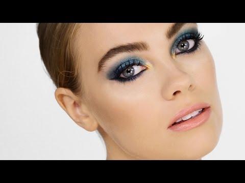 Metallic Mermaid Makeup - Cara Delevingne