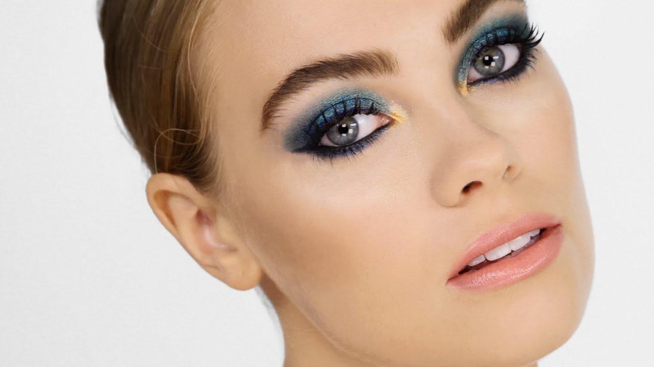 Metallic Mermaid Makeup Cara Delevingne Youtube