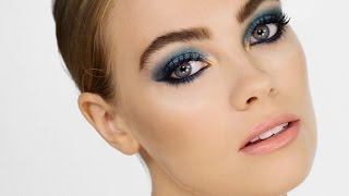 Metallic Mermaid Makeup - Cara Delevingne