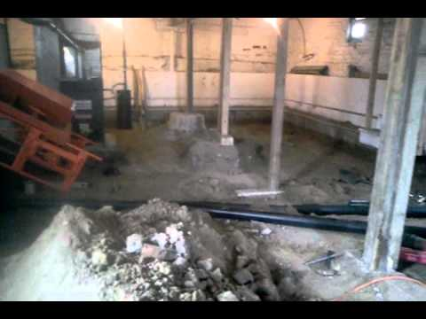 Dig out crawl space to make basement denver youtube for Making a crawl space into a full basement