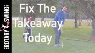Fix the Inside Takeaway - Stick Drill!  Add Consistency to your Swing!