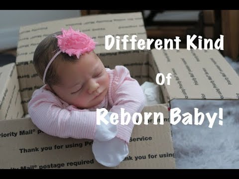 A Different Kind Of Reborn Baby Doll Box Opening What S Different About Her Youtube