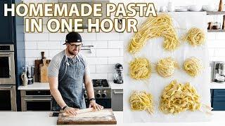 Easy to Make Homemade Pasta Dough Recipe