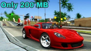 How to Download GTA SA Lite For Android Only 200 MB + Gameplay !!!(Only For Mali GPU)