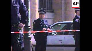 Security at police station where Durn committed suicide