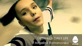 Open Kids daily life: week #3 Angelina Romanovska - Open Art Studio