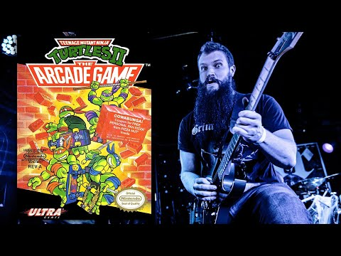 Stage 1 - Fire! (Teenage Mutant Ninja Turtles II: The Arcade Game) | Metal Cover