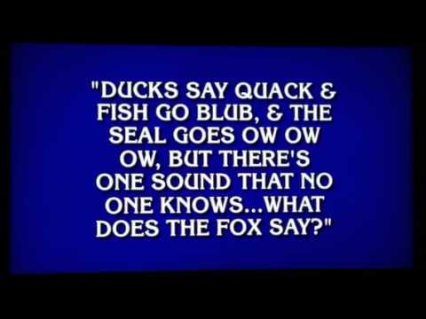 Weird Jeopardy Questions 3