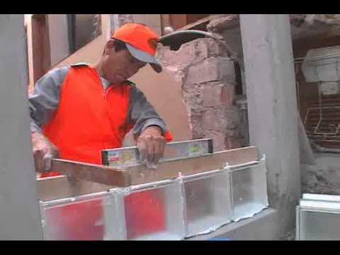 Aplicaci n chemayolic block de youtube - Cocinas con bloques de vidrio ...