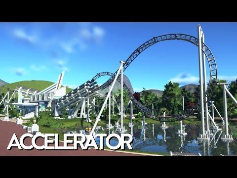 Planet Coaster - Accelerator (Timelapse + POV + Download)