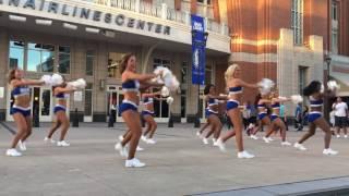 Dallas Mavericks Dancers at MFFL Tipoff Party