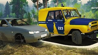 Адская погоня на ВАЗ 2112 - SpinTires