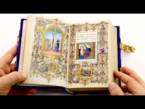 Book of Hours of Lorenzo de' Medici - Leafing through the facsimile edition