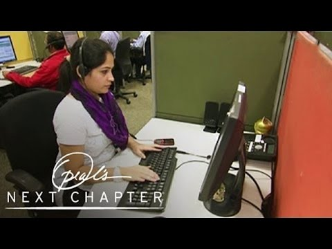 Exclusive Webisode: Inside an Indian Call Center | Oprah's Next Chapter | Oprah Winfrey Network