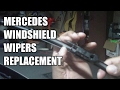 Mercedes Wiper Blade Replacement DIY
