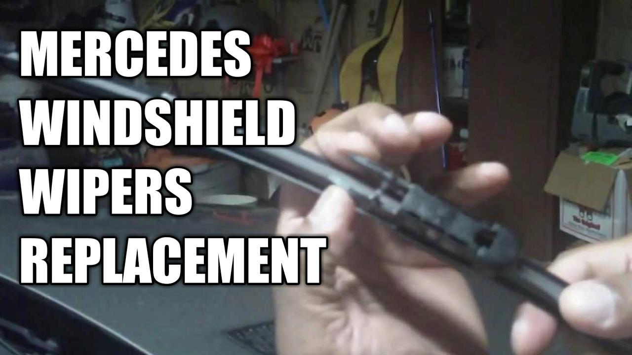 Mercedes Wiper Blade Replacement DIY