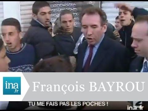 La gifle de François Bayrou à Strasbourg - Archive INA