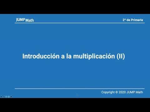 2. Unidad 12. Introducción a la multiplicación II