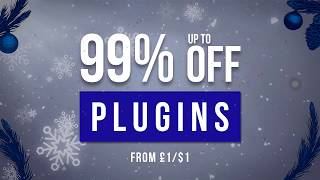 Plugin Boutique Christmas Sales - Save up to 99 on great plugins
