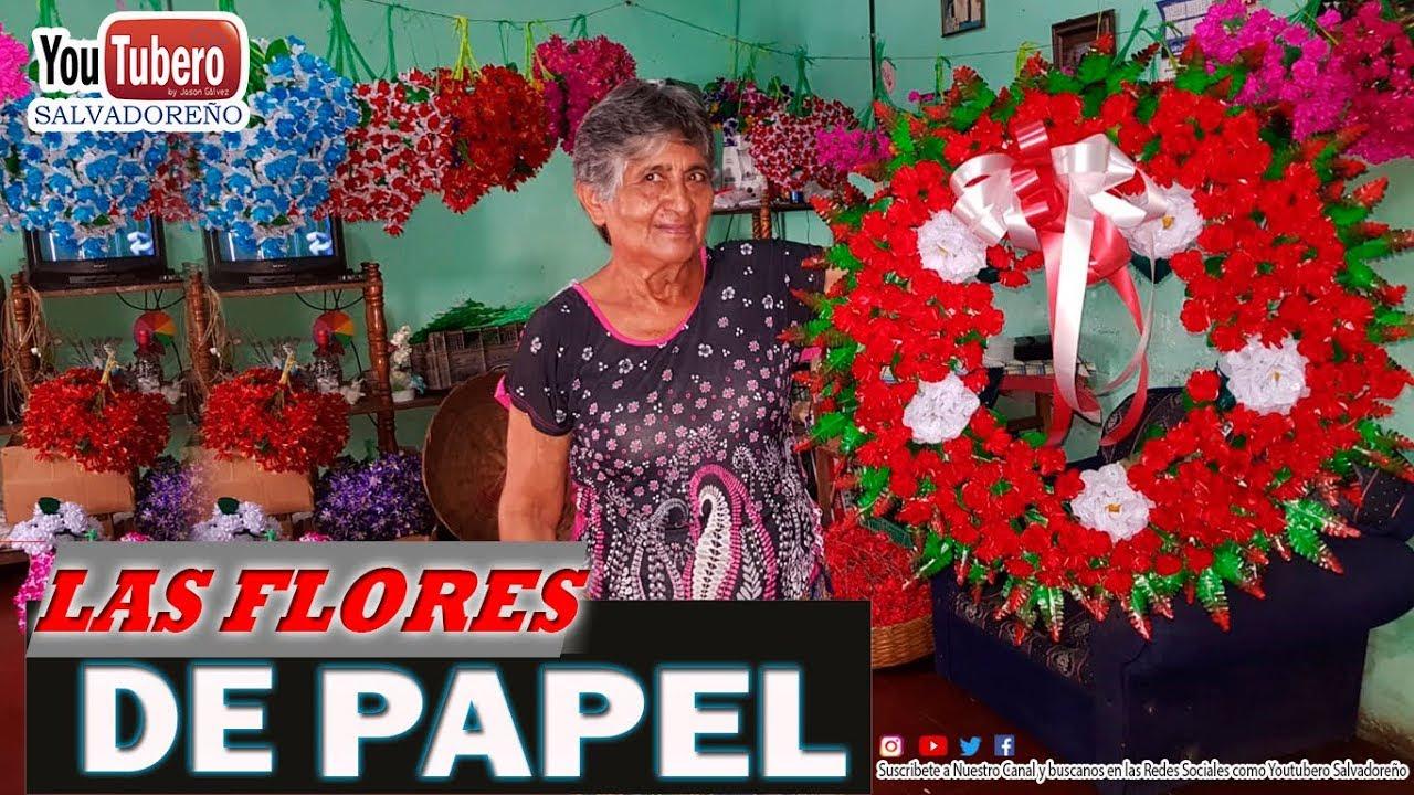 como-se-elaboran-las-flores-de-papel-quezaltepeque-el-salvador