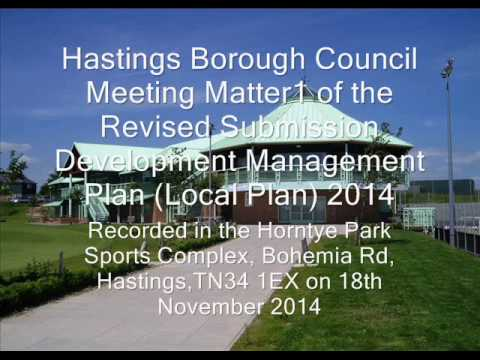 Matter 1 General Principles of the Revised Submission Development Management Plan (Local Plan) 2014