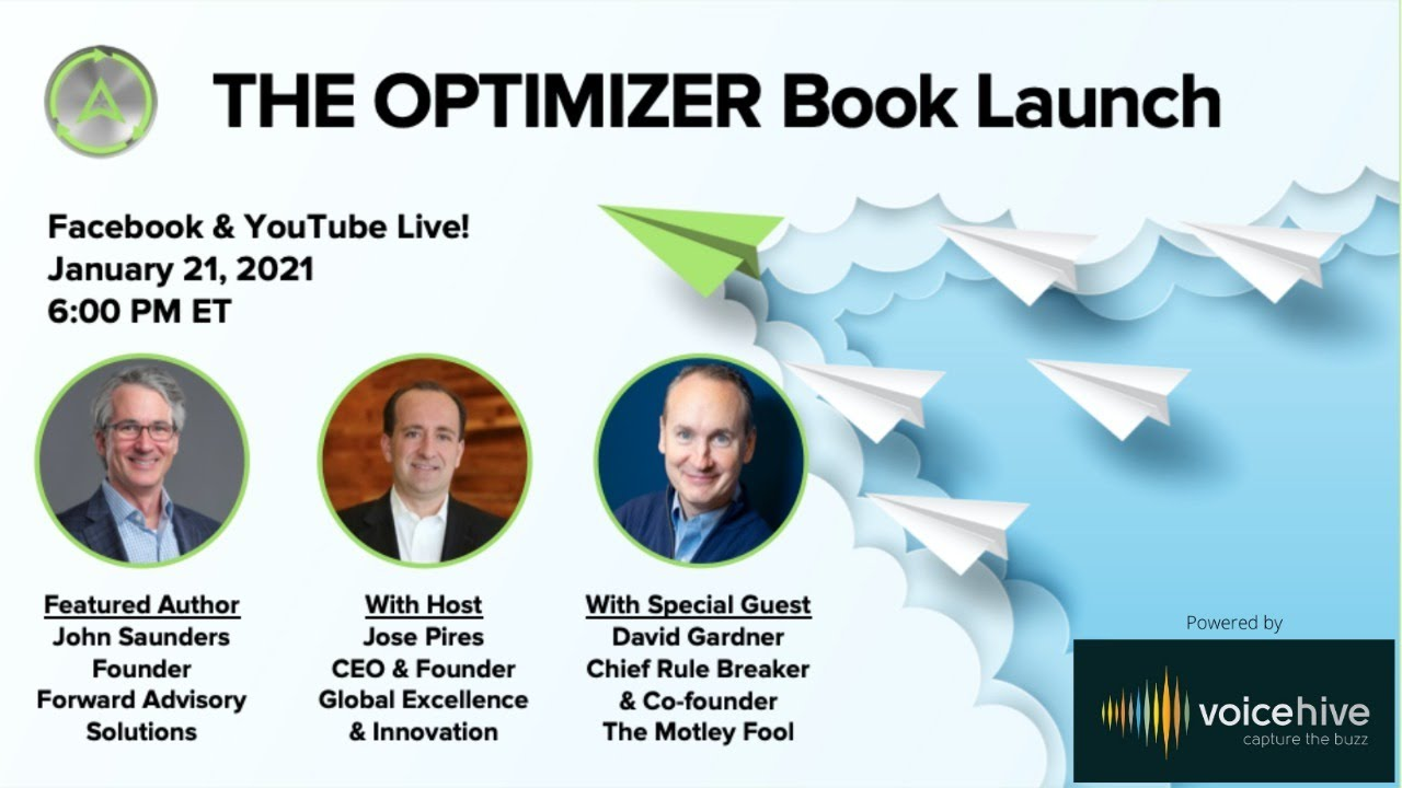 THE OPTIMIZER Book Launch hosted by Jose Pires