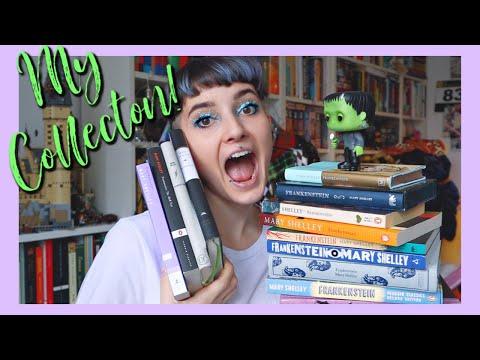 My Frankenstein Book Collection
