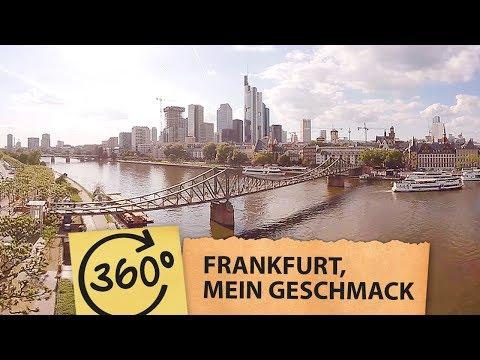 Frankfurt, mein Geschmack | 360° Drohnenflug | Frankfurt Song